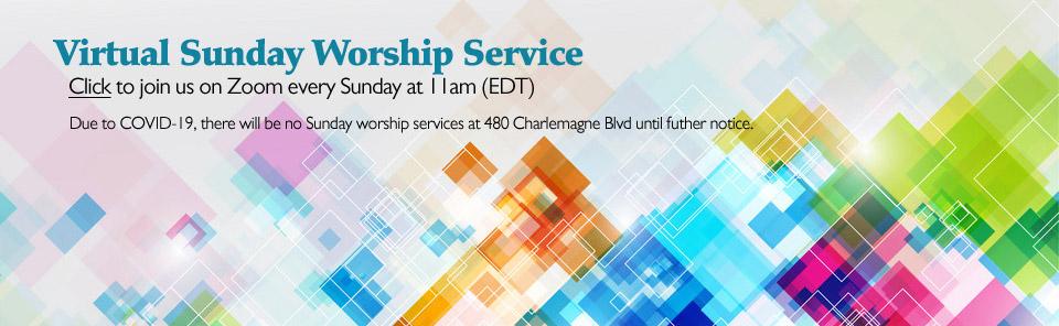 Zoom Virtual Worship Service